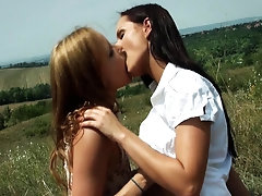 Diminutive Legal Age Teenagers - Jo & Kari -FPD-