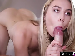 NubilesPorn - Gorgeous Teen Fucked Hard From Behind
