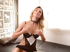 Hot Babe Cara Mell Stripping.mp4
