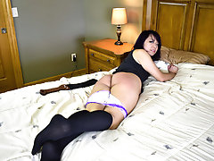 Exchange Student Faces the Strap! - (Spanking)